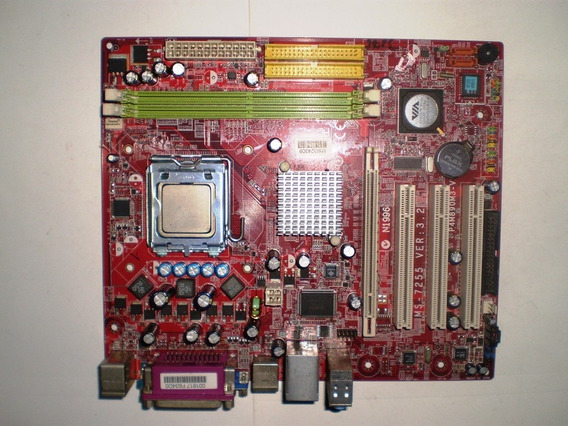 Kit Msi P4m890m3-v + Processador + Cooler + Memória