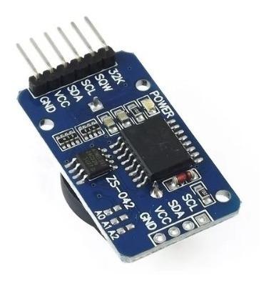 Arduino Modulo Reloj Tiempo Real Rtc Ds3231 Eeprom 24c32