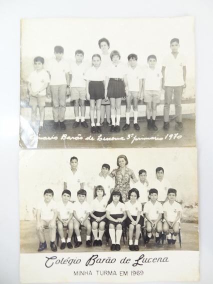 2 Fotografias Antigas Médias De Escola Mini Poster Formatura