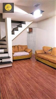 Sobrado Com 2 Dormitórios À Venda, 55 M² Por R$ 190.000 - Jardim Bela Vista - Mogi Das Cruzes/sp - So0107