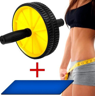Aparelho Roda Abdominal Treino Musculação Em Casa