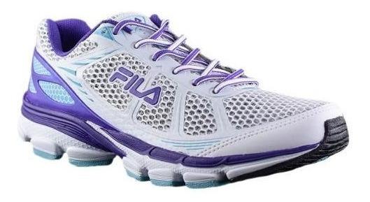 Zapatilla Fila Running Mujer Striking 3.0 Blanco/violeta Ras