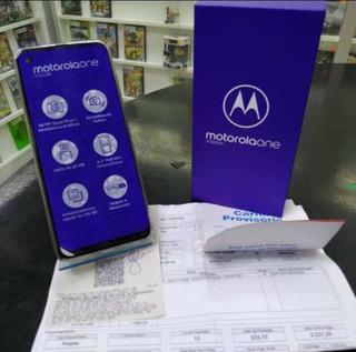 Smartphone Motorola One Vision 128gb Cobre - Original Semino