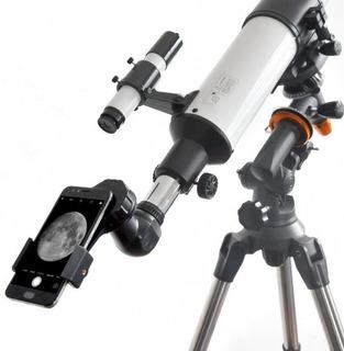 Adaptador Para Celular Telescopio Microscopio Binoculares
