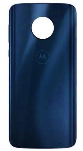 Tampa Vidro Traseira Motorola Moto G6 Plus Índigo