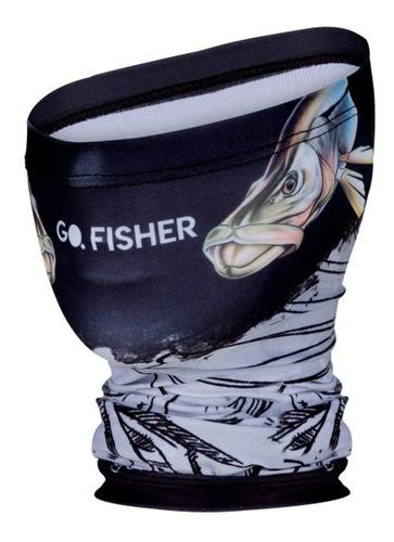 Imagem 1 de 2 de Bandana Balaclava Go Fisher Proteção Solar Uv 50 Robalo