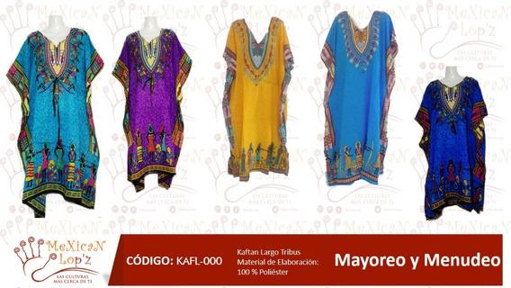 Captan Indu Largo Elegante Modelo Tribu Varios Colores