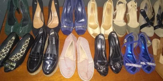 Lote 20 Pares Calçados Feminino Variados