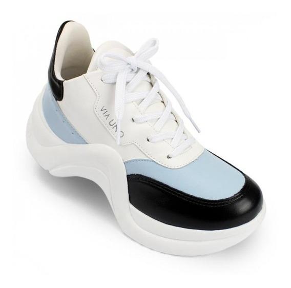 Zapatillas Dad Plataforma Via Uno. Las Mas Buscadas!!!!