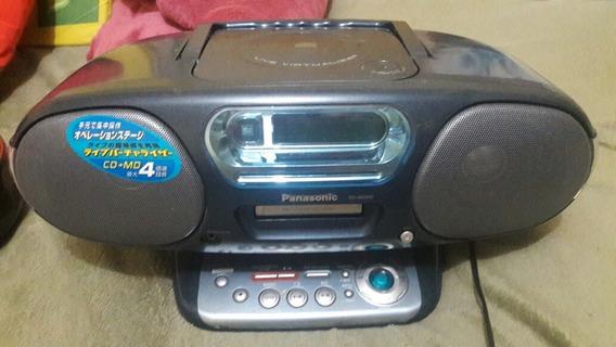 Radio Cd Md Portatil Panasonic