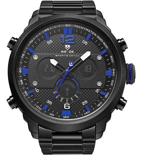 Relógio Masculino Anadigi Weide 10138