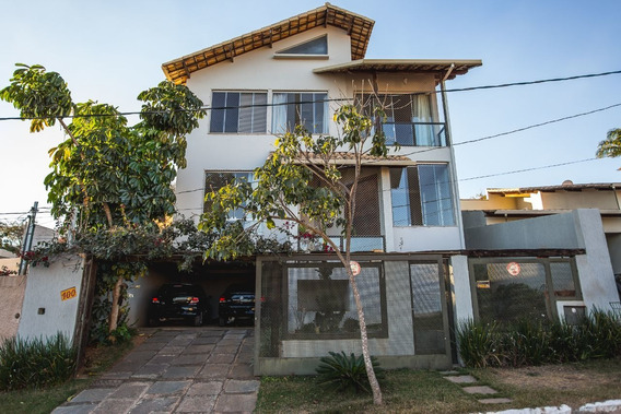 Casa Em Condomínio Com 3 Quartos Para Comprar No Cond. Village Do Gramado Em Lagoa Santa/mg - Blv5196