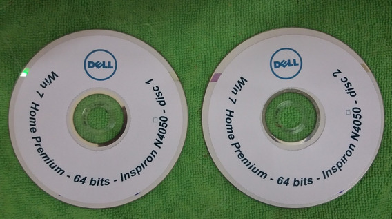 Win 7 Home Premium - 64 Bits Dell 02 Dvds Reinstalacao N4050