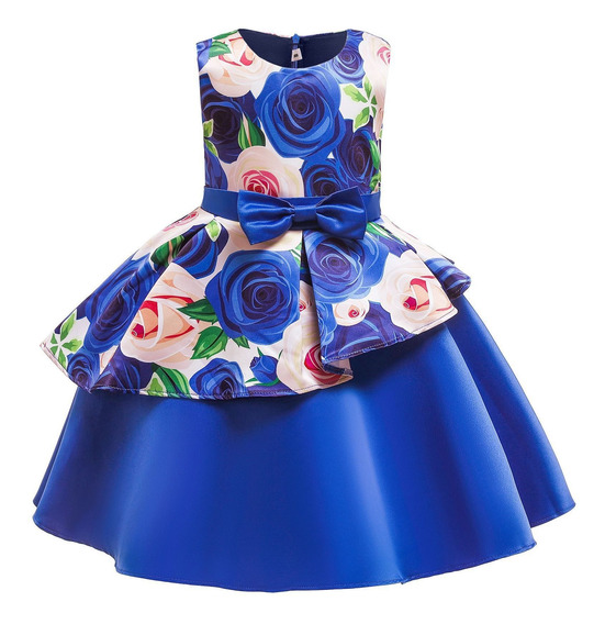 Vestido De Niña, Vestido De Princesa, Vestido De Lazo