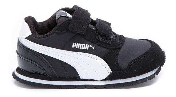 Zapatillas Bebe Puma St Runner V2 Negra - Corner Deportes