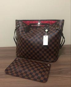 3c19ba141 Bolsa Louis Vuitton Neverfull Mm Damier Ebene - Calçados, Roupas e ...