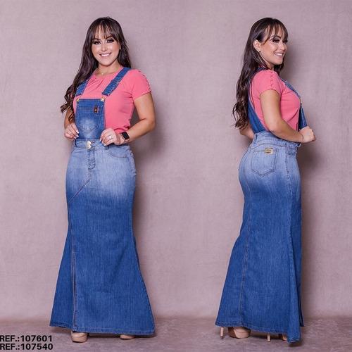 Salopete Jeans Frt / Jardineira Jeans 2 Em 1