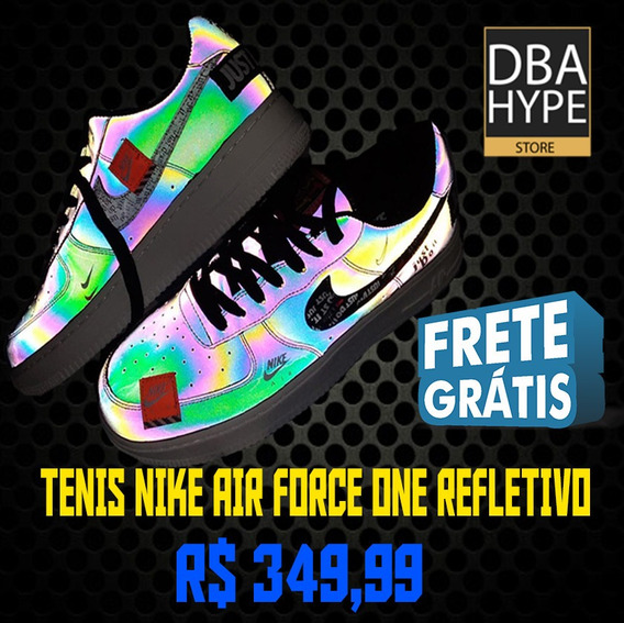 Tênis Nike Air Force One Refletivo - Encomenda
