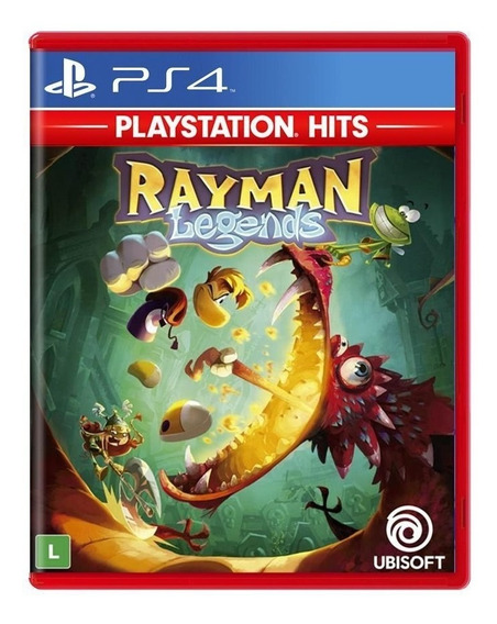 Rayman Legends (playstaion Hits) - Ps4 - Novo - Física