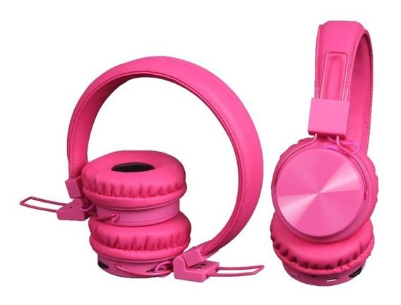 Headphone - Fone De Ouvido Colorido Bluetooth Branco