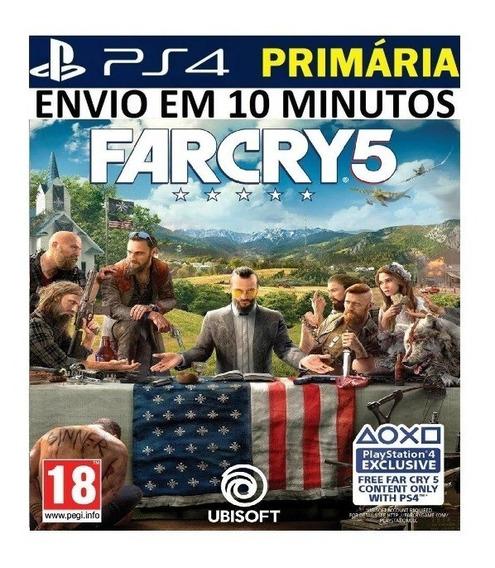 Far Cry 5 Ps4 Original 1 Primário Vitalício Português