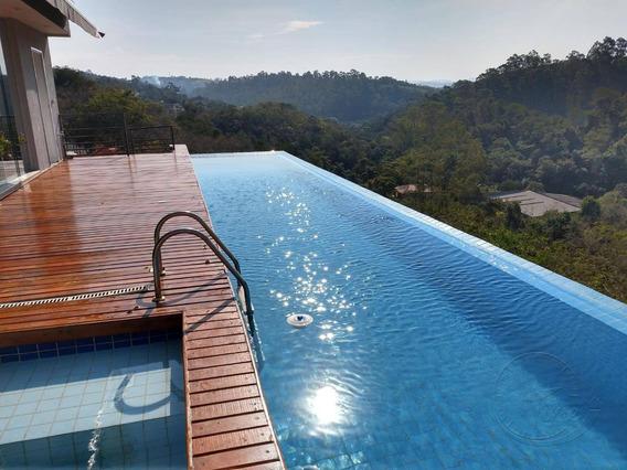 Casa Com 4 Dormitórios À Venda, 750 M² Por R$ 2.700.000 - Colinas Da Anhangüera - Santana De Parnaíba/sp - Ca0340