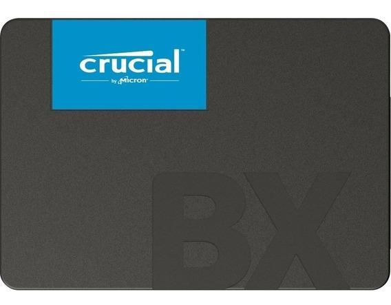 Ssd Crucial 120gb Bx500 Sata3 2.5 Polegadas 6gb/s Leitura 540mb/s Gravação 500mb/s - Ct120bx500ssd1