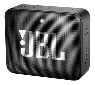 Parlante JBL Go 2 portátil inalámbrico Midnight black