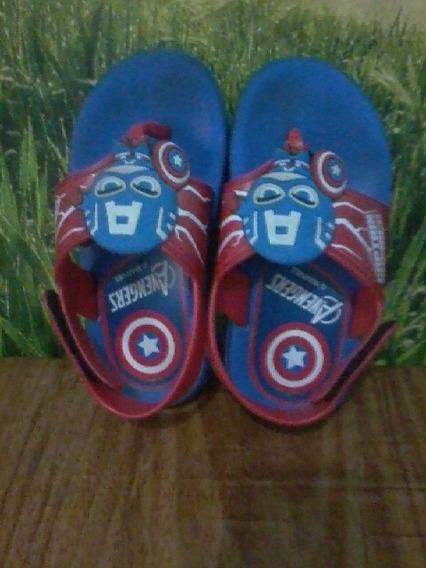 Sandália Infantil Avengers