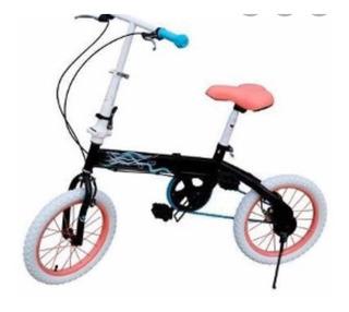 Bicicleta Folding Bia Plegable Rod 16 Licencia Oficial Disne