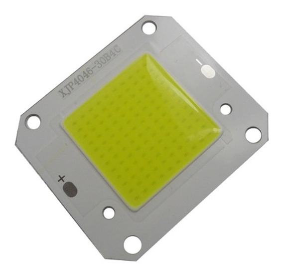 Led Chip 50w 12v Refletor 50w 12v Super Led Branco Frio