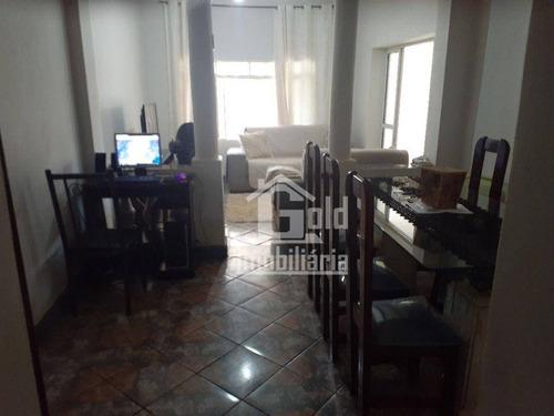 Imagem 1 de 13 de Casa Com 2 Dormitórios À Venda, 205 M² Por R$ 297.000 - Vila Tibério - Ribeirão Preto/sp - Ca2143