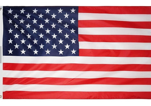 Imagen 1 de 4 de Bandera De Estados Unidos 150 Cm X 90 Cm