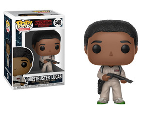 Figura Vinilo Pop Stranger Things Ghostbusters Lucas Funko