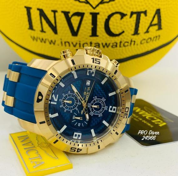 Relógio Invicta Pro Diver 24966 - Ouro 18k