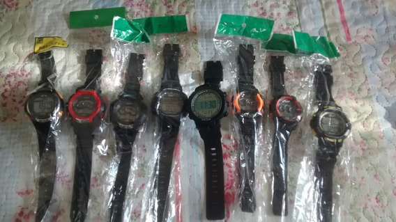 Kit Com 10 Relógios Esportivos Digitais P/ Revendedores