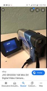 Video Camara Digital Jvc Gr-d33u