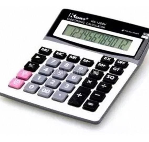 Calculadora Grande 12 Digitos Kenko De Mesa, Alta Calidad !!