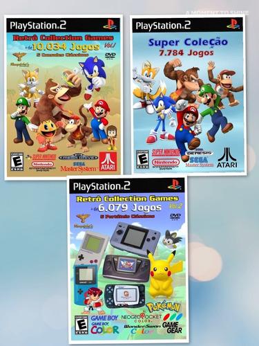 Imagem 1 de 5 de 3 Pacotes De Isos Raras Para Playstation 2 Ou Emulador Ps2