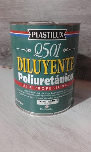Imagen 1 de 1 de Diluyente Poliuretanico Plastilux Q-501 X 4 Lts