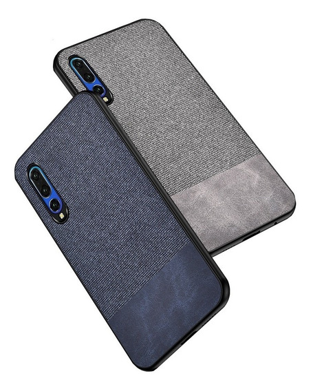 Mica + Leather Case Y Tela Huawei Mate 20 P20 P30 Y7 Y9 Nova