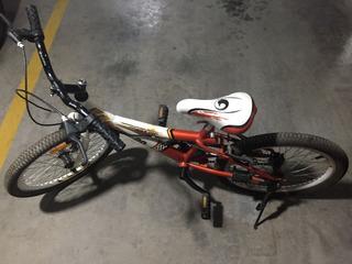 Bicicleta Aurora Rodado 20 Usada Roja Y Blanca