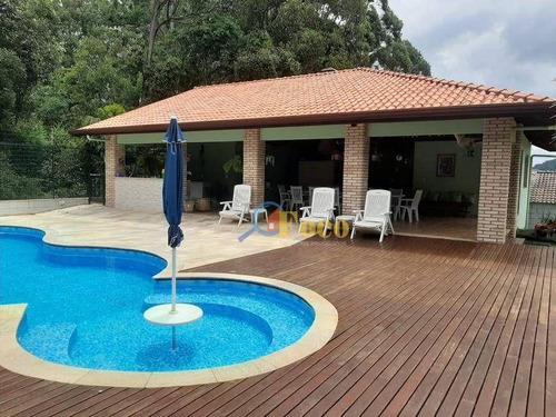 Imagem 1 de 30 de Chácara Com 3 Dormitórios À Venda, 1000 M² Por R$ 1.590.000,00 - Condomínio Parque São Gabriel - Itatiba/sp - Ch0187