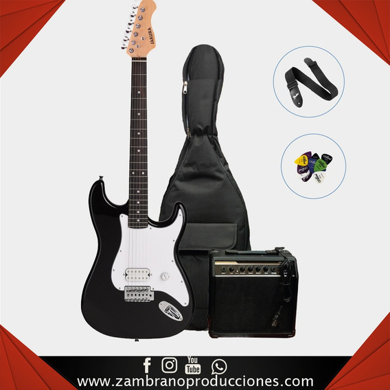Combo De Guitarra Electrica Sakura (zam028)