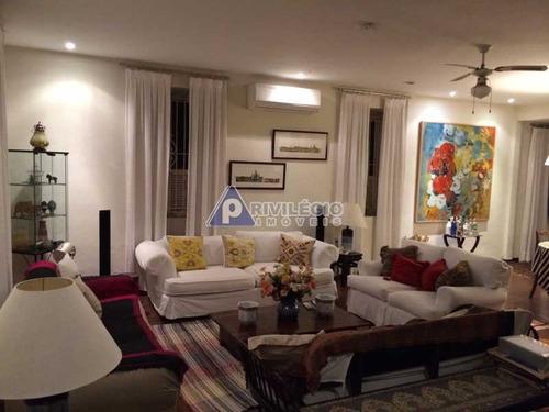 Casa De Rua À Venda, 5 Quartos, 5 Suítes, Humaitá - Rio De Janeiro/rj - 11298