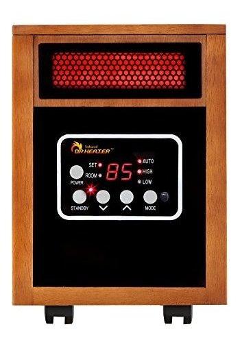 Dr  Calefactor Por Infrarrojos Radiador Portatil 1500watt