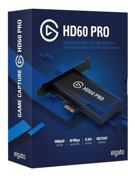 Elgato Game Capture Hd 60 Pro Pcie Xbox One Ps4 One S Wii S