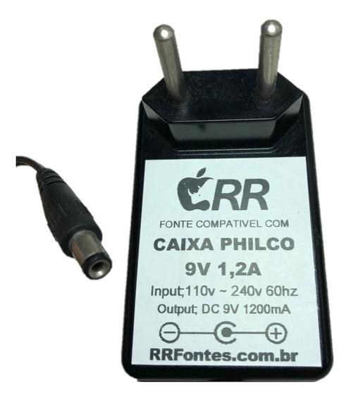 Fonte Carregador 9v Caixa Philco Pht80 Pcx80d Pcx120 Bcx80