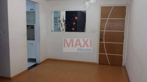 Apartamento Residencial À Venda, Jaguaribe, Osasco - Ap0465