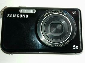 Câmera Samsung Usada Funcionando! Obs:tela Quebrada! + Frete